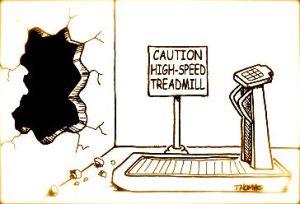 dangerous treadmill
